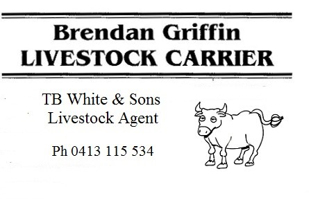 Brendan Griffin Livestock Carrier